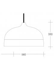 Dekorativna visilica aluminium  PD315-1A 7527C  2295/2295