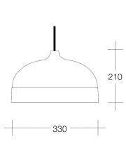 Dekorativna visilica aluminium srebro PD315-1B 7527C Srebrna/Srebrna
