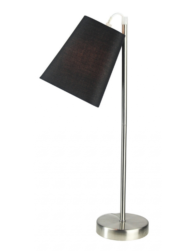 Dekorativna stolna nikl crna LT6004 NICKEL/BLACK