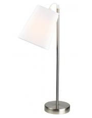 Dekorativna stolna nikl bijela LT6004 NICKEL/WHITE