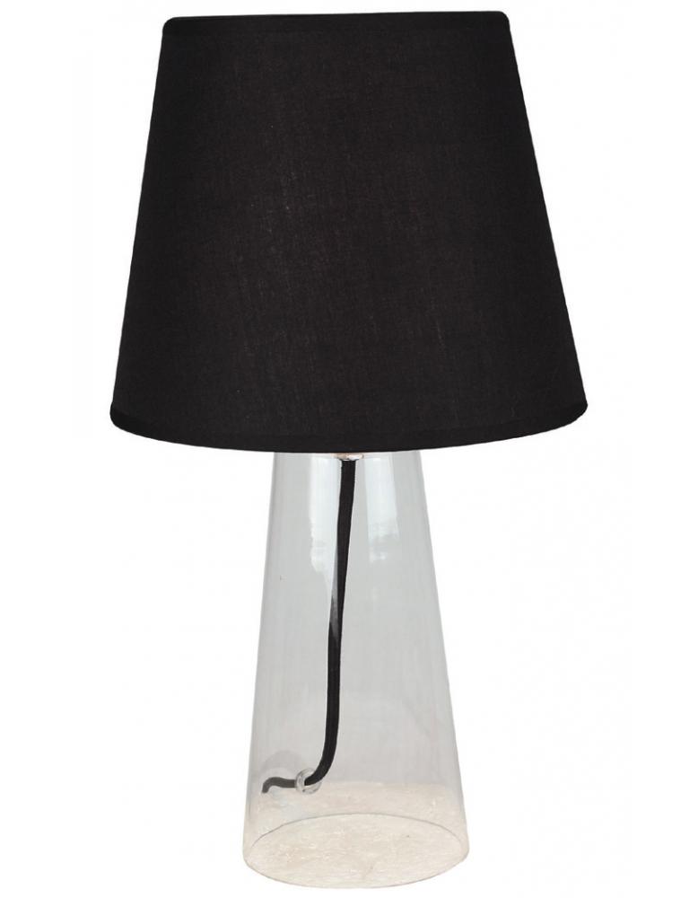 Dekorativna stolna prozirna - crna LT4101 CLEAR/BLACK