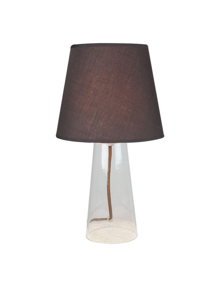 Dekorativna stolna prozirna - kava LT4101 CLEAR/COFFE