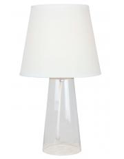 Dekorativna stolna prozirna - bijela LT4101 CLEAR/WHITE