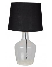 Dekorativna stolna prozirna - crna LT4132 CLEAR/BLACK