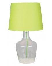 Dekorativna stolna prozirna - zelena LT4132 CLEAR/GREEN