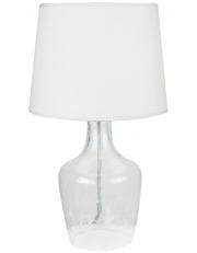 Dekorativna stolna prozirna - bijela LT4132 CLEAR/WHITE