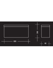 Dekorativni luster cos6261 Chrome frame