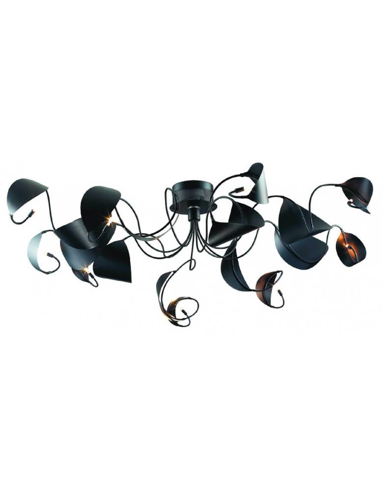 Dekorativna visilica MX0266B-9 BLACK
