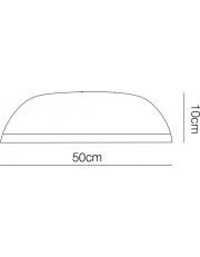 Dekorativna stropna CL604 METAL 3000k metal